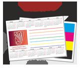 Карманный календарик 100х70